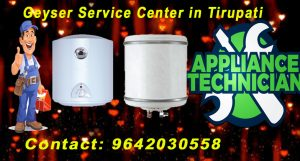 Geyser Service Center in Tirupati