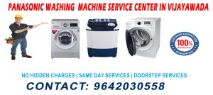 Panasonic Washing Machine Service Center in Vijayawada