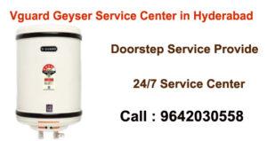 Vguard Geyser Service Center in Hyderabad