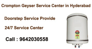 Crompton Geyser Service Center in Hyderabad
