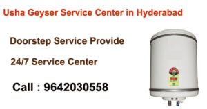 Usha Geyser Service Center in Hyderabad