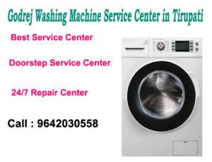 Godrej Washing Machine Service Center in Tirupati