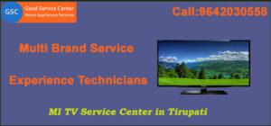 MI TV Service Center in Tirupati