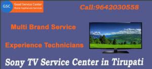 Sony TV Service Center in Tirupati