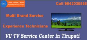 VU TV Service Center in Tirupati