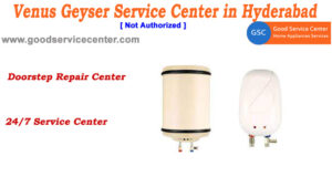 Venus Geyser Service Center in Hyderabad