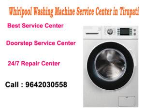 Whirlpool Washing Machine Service Center in Tirupati