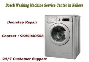 Bosch Washing Machine Service Center in Nellore